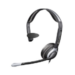 Sennheiser CC515 Headset Binaural Wired Black,Silver mobile headset