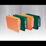 Rexel Crystalfile Classic '330' Lateral File 50mm Orange (25)