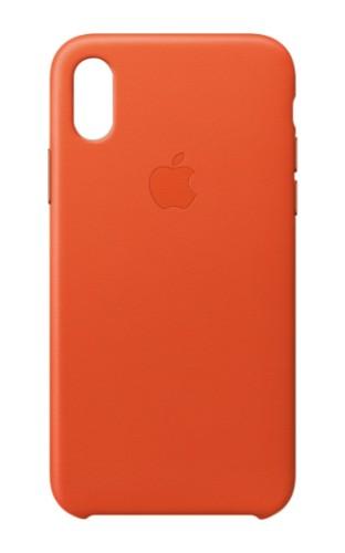 "Apple MRGK2ZM/A mobile phone case 14.7 cm (5.8"") Skin case Orange"