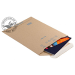 Blake Purely Packaging Corrugated Pocket Peel and Seal Kraft 280×200mm (Pack 100)