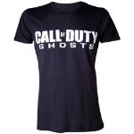 CALL OF DUTY Ghosts Men's Logo Extra Large T-Shirt, Black (TS18M9CDH-XL)