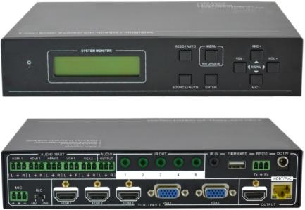 VivoLink Scaler switcher 5x2