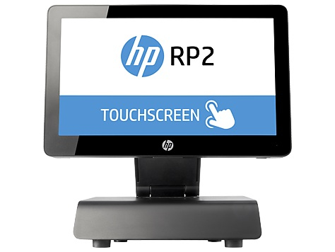 """HP RP2 2030 All-in-one 2.41GHz J2900 14"""" 1366 x 768pixels Touchscreen Black POS terminal"""