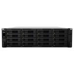 Synology RackStation RS4017xs+ D-1541 Ethernet LAN Rack (3U) Black NAS