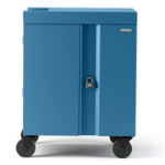 Bretford Cube Cart Portable device management cart Blue