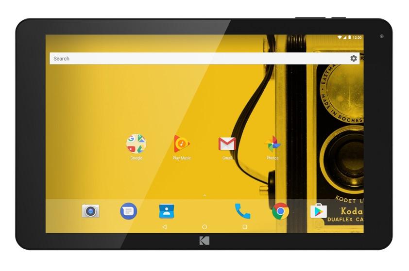 "Archos Home Kodak 10"" 32GB 3G Black, Yellow tablet"