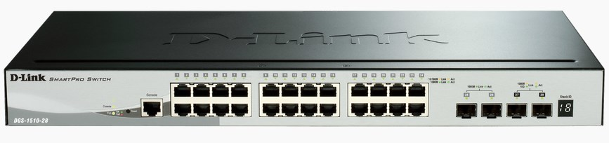 D-Link DGS-1510-28 network switch