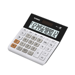 Casio MH-12-WE calculator Desktop Basic Black,White
