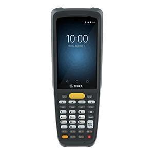 "Zebra MC27BJ-2A3S2RW handheld mobile computer 10.2 cm (4"") 800 x 480 pixels Touchscreen 296 g Black"