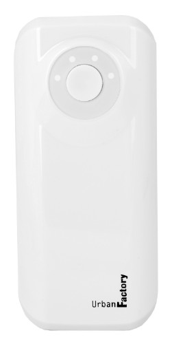 Urban Factory Power Bank Emergency 4400 mAh White
