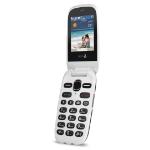 "Doro PhoneEasy 632 6.1 cm (2.4"") 105 g Black,White Feature phone"