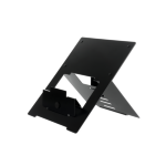 R-Go Tools Riser Flexible Laptop Stand, adjustable, black
