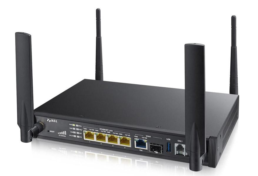 ZyXEL SBG3600-N000-EU01V1F 3G 4G Black wireless router