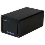 "StarTech.com USB 3.1 (10Gbps) External Enclosure for Dual 2.5"" SATA Drives S252BU313R"