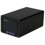 "StarTech.com S252BU313R storage drive enclosure 2.5"" HDD/SSD enclosure Black"