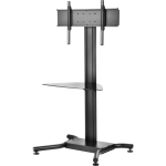 Peerless SS560G Multimedia stand Black multimedia cart/stand
