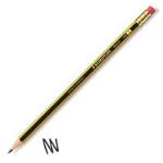 Staedtler Noris HB Pencil Rubber Tip Black Yellow PK12