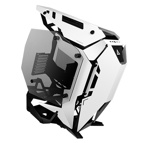 TORQUE - GAMING CASE MID TOWER BLACK / WHITE