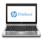 "HP EliteBook 2570p 2.6GHz i5-3320M 12.5"" 1366 x 768pixels 3G Silver Notebook"