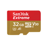 Sandisk Extreme memory card 32 GB MicroSDHC Class 10 UHS-I