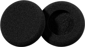 Sennheiser HZP 23 headphone pillow Black Polyurethane 2 pc(s)