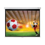 "Optoma DS-3084PWC projection screen 2.13 m (84"") 4:3 White"