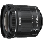 Canon EF-S 10-18mm f/4.5-5.6 IS STM + EW-73C + Lens Cloth SLR Ultra-wide lens BlackZZZZZ], 9519B009