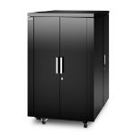 APC NetShelter CX Freestanding 24U Black rack