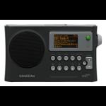 Sangean WFR-28 Internet Digital Black Clock/Portable Radio