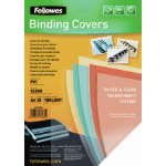 Fellowes 5380001 A4 PVC Transparent 25pc(s) binding cover