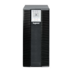 Legrand Keor LP 2kVA FR Double-conversion (Online) 2000VA 8AC outlet(s) Black uninterruptible power supply (UPS)