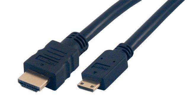 MCL 2m HDMI cable HDMI HDMI tipo A (Estándar) HDMI Type C (Mini) Negro