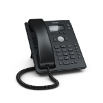Snom D120 IP phone Black Wired handset 2 lines