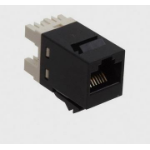 AMP 1375055-2 RJ-45 Black socket-outlet