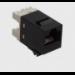 AMP 1375055-2 RJ-45 Black socket-outlet