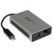 StarTech.com Adaptador Thunderbolt de Red Ethernet Gigabit Externo con Puerto USB 3.0