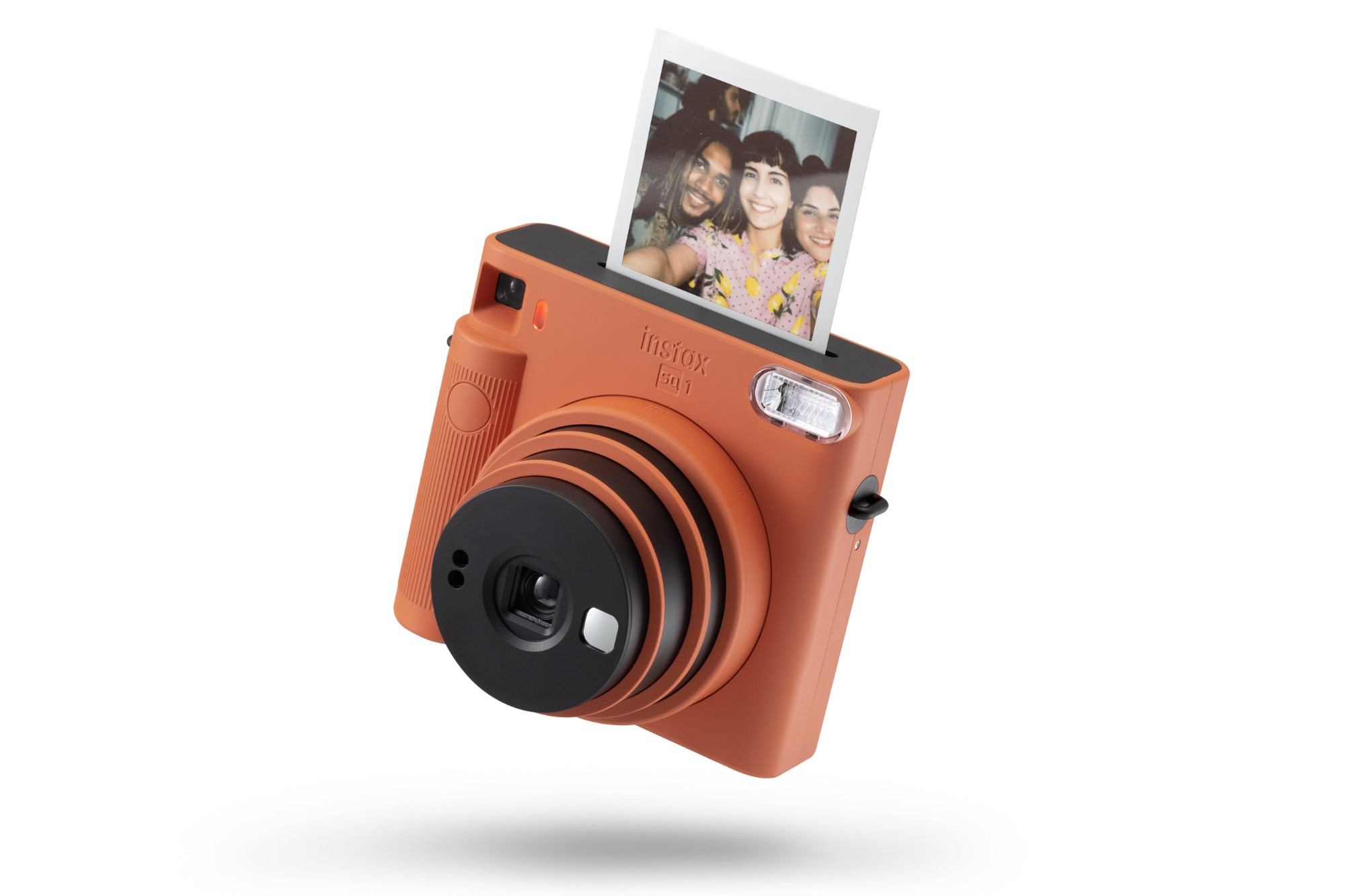 Fujifilm Instax Square SQ1 Instant Camera (10 Shots) - Terracotta Orange