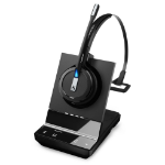 Sennheiser SDW 5013-UK Headset Ear-hook,Head-band,Neck-band Black