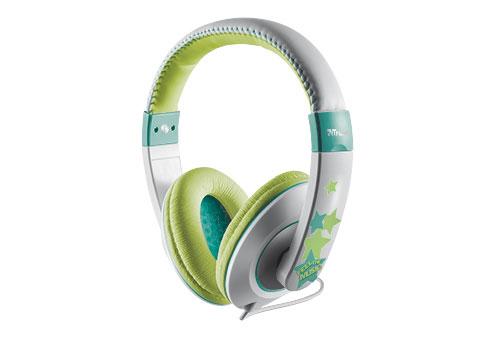 Trust Sonin Kids Headphones Head-band Green,Grey