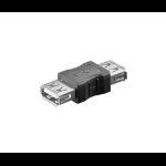 Microconnect USB 2.0 A-A F-F USB A Black