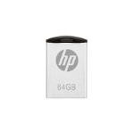 PNY HP v222w 64GB 64GB USB 2.0 Type-A Black,Silver USB flash drive