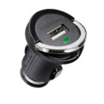 Microconnect USB Car Charger Auto Black