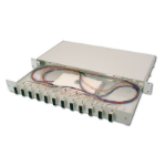 Digitus DN-96321/3 SC 1pc(s) Grey fiber optic adapter