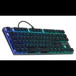 Cooler Master Gaming SK630 keyboard USB QWERTY US English Black,Metallic