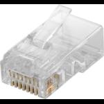 Microconnect KON511-10 wire connector RJ45 Transparent