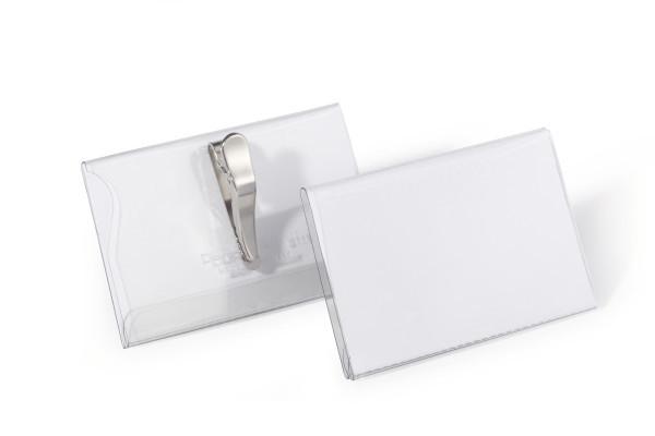Durable 811119 Badge PVC 25pc(s) identity badge/badge holder