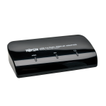 Tripp Lite USB 3.0 SuperSpeed to DVI and HDMI Dual Monitor Video Display Adapter