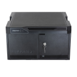 Ergotron 24-375-085 Portable device management cabinet Black