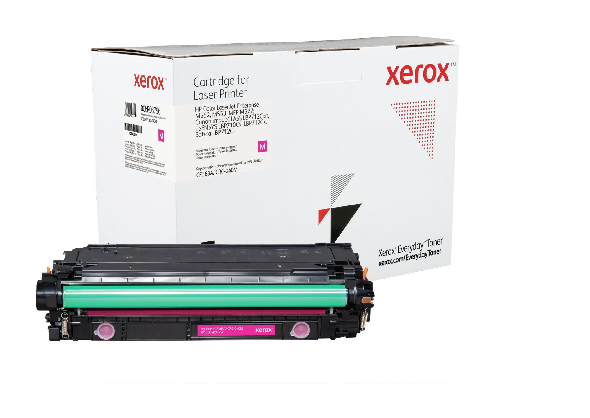 Xerox Tóner de Rendimiento estándar Magenta Everyday, HP CF363A/ CRG-040M equivalente de , 5000 páginas