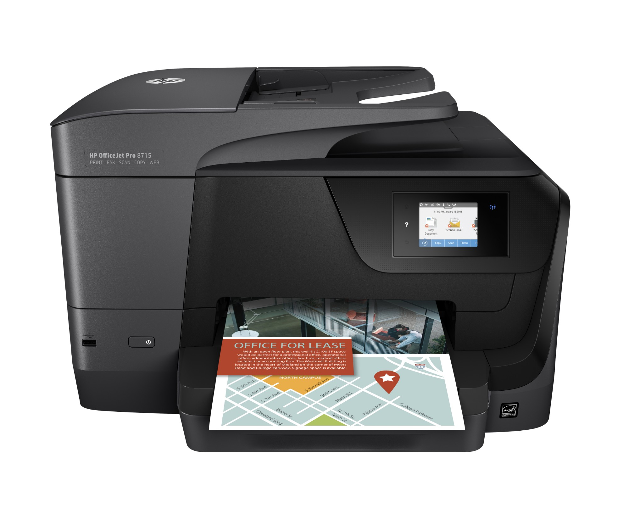 HP OfficeJet Pro 8715 All-in-One Printer